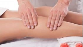 Leg and foot massage at heaven therapy beauty salon in newcastle
