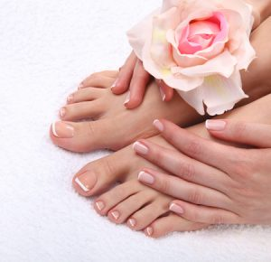raffin wax pedicure at top cullercoats beauty salon, heaven therapy