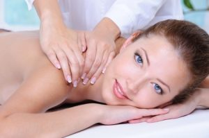 back massage at heaven therapy beauty salon in cullercoats Whitley Bay Tynemouth