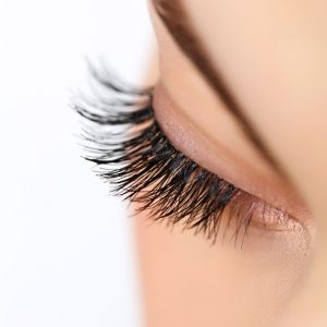 SEMI PERMANENT EYE LASHES at heaven therapy top beauty salon in cullercoats wallsend