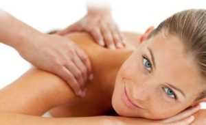 back neck and shoulder massage at cullercoats beauty salon heaven therapy wallsend