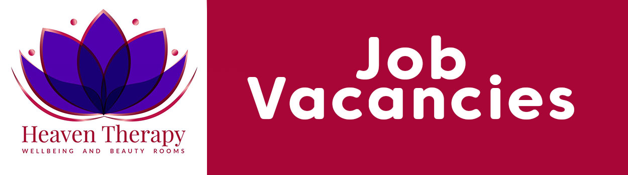 Beauty JOB VACANCIES at heaven therapy beauty salon in north shields, whitley bay, Tynemouth, Wallsend, tyne and wear
