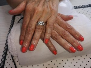 the best gel nail services at Top beauty salon in cullercoats, whitley bay, monkseaton, wallsend