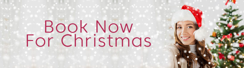 Book Now For Christmas at Heaven Therapy Beauty Salon Whitley Bay