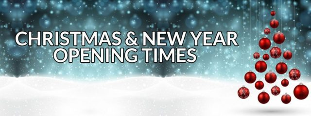 Christmas New Year Opening Hours at heaven therapy beauty salon in north shields