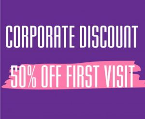 corporate discounts, massage, beauty, heaven therapy, top beauty salon, north shields