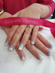Gel Nails at Heaven Therapy best beauty salon in Cullercoats North Shields Tynemouth Wallsend Shiremoor blyth cramington seaton delaval killingworth holywell