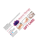 Heaven Therapy Gift Card, Expiry Dates, Top Beauty Salon, Cullecoats, North Shields