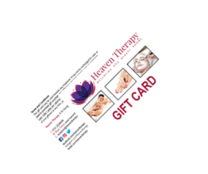 Heaven Therapy Gift Card, Top Beauty Salon, Cullecoats, North Shields