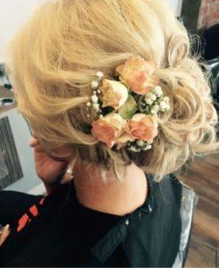 bridal hair JD Hair Salon shiremoor north tyneside