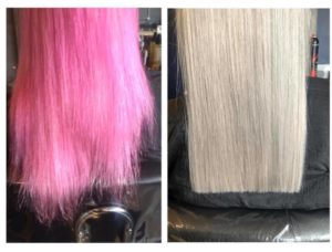 Olaplex hair colour correction JD Hair Design Shiremoor north tyneside