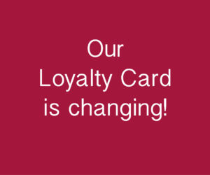 Heaven Therapy Loyalty Card