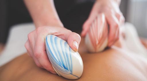 Lava Shell Massage at Heaven Therapy Beauty Salon Cullercoats North Shields Tynemouth Newcastle