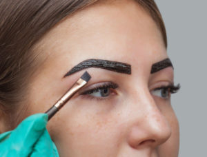henna brows at heaven therapy beauty salon in cullercoats, north shields, wallsend