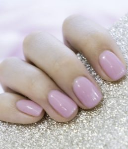 gel nail extensions at heaven therapy beauty salon in cullercoats