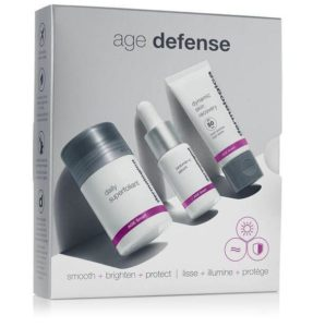 age defense kit at Heaven Therapy beauty salon in Cullercoats.