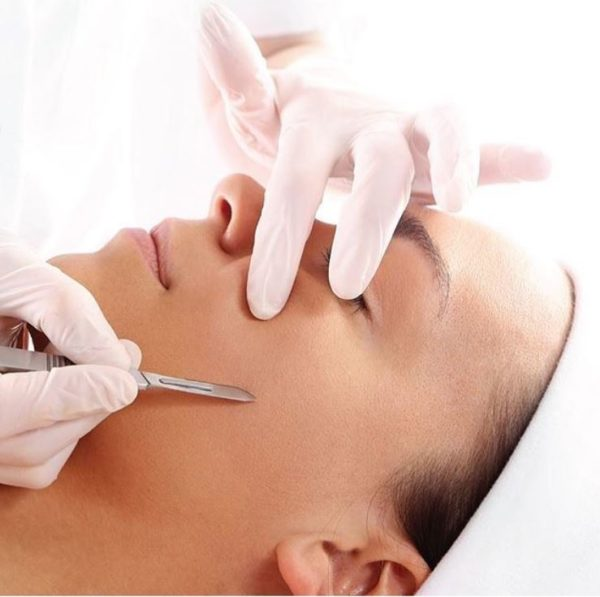 Dermaplaning Exfoliating Treatment at heaven therapy beauty salon in cullercoats
