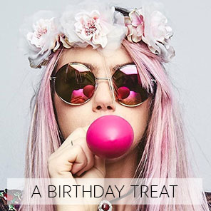 A BIRTHDAY TREAT offer from Heaven Therapy Beauty Salon Whitley Bay Tyne and Wear