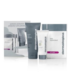 free dermalogica pollution protection gift set