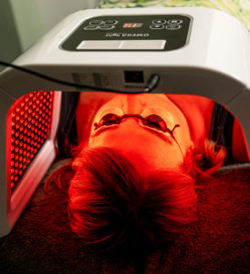 LED Light Therapy Anti-Ageing and Acne treatments at heaven therapy beauty salon in tynemouth, north shields