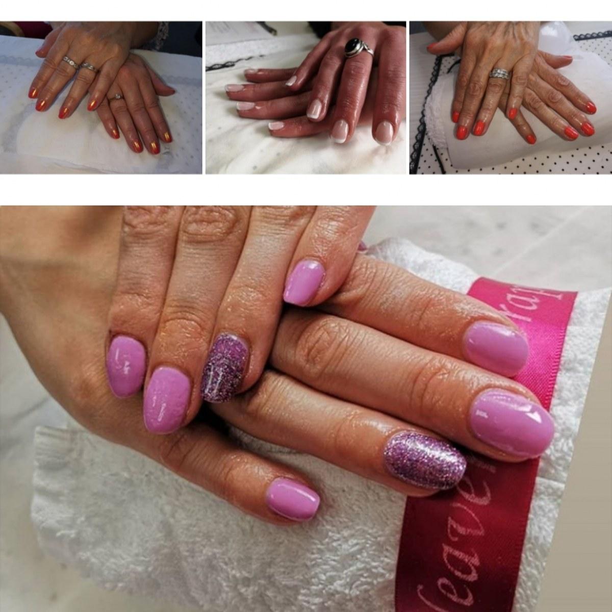 Gel Nails  at Heaven Therapy Nail Salon, Cullercoats, North Shields