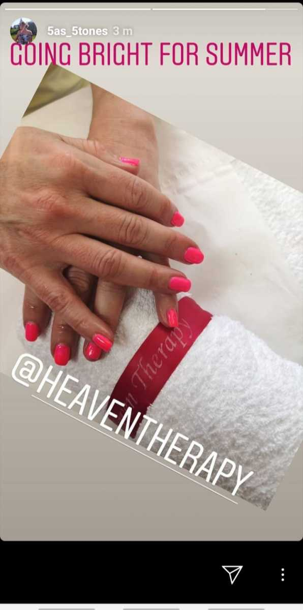 Gel Nails  at Heaven Therapy Nail Salon,  Cullercoats, North Shields